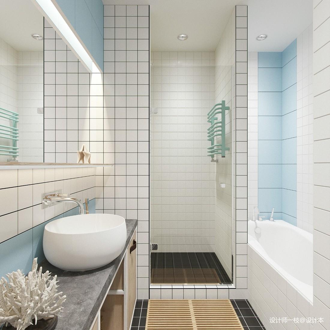 50㎡單身公寓設計,一居室這樣設計剛剛好_4061202