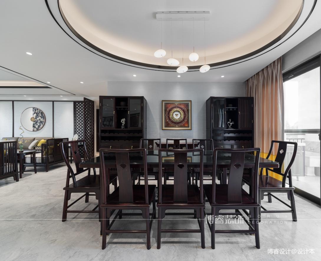 淡雅静谧的新中式住宅|博睿设计_1590568850_4156806