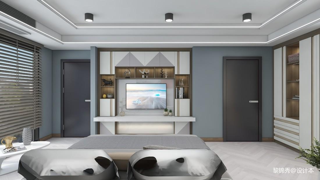 現代單身公寓單層46平方復式_1602569627_4285160