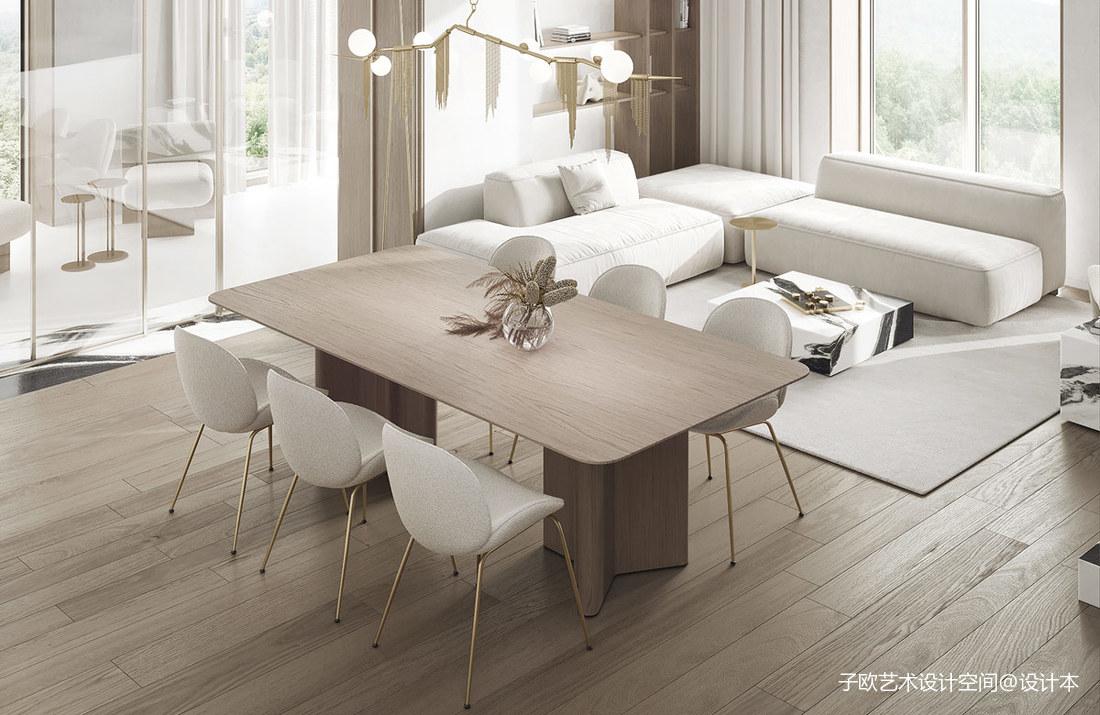 現代華麗的裝飾將魅力帶回現代室內設計_1624367164_4470499