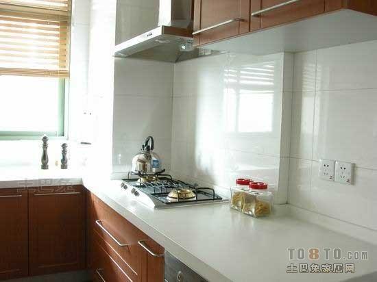 精选简约开放式厨房装修效果图