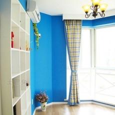 104平米三居书房混搭装饰图片大全