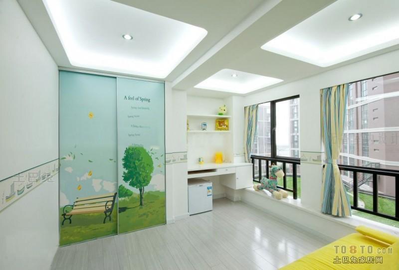 精美面积144平复式儿童房混搭装修效果图片