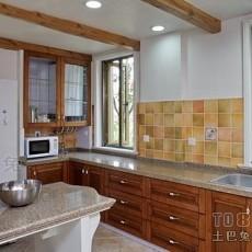 时尚家庭小厨房装修效果图片欣赏