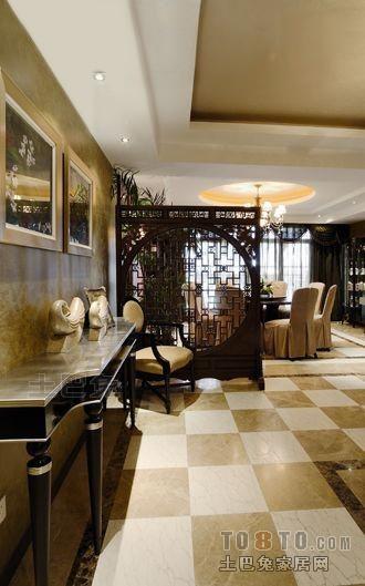 东南亚风格复式餐厅设计图片