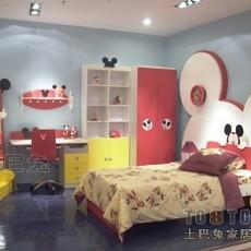 女儿童房睡房装修效果图