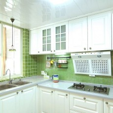 大小105平混搭三居厨房装修效果图