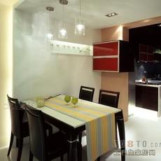 美式风格小餐厅装修效果图