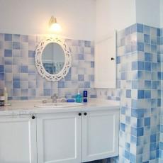 精选面积90平混搭三居卫生间装修实景图片大全