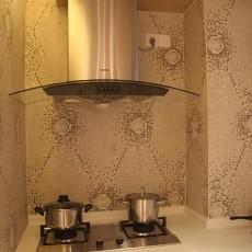 精美113平米四居厨房混搭效果图