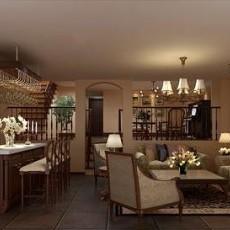 客厅餐厅在一起装修图