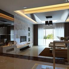热门91平米三居客厅混搭装修图
