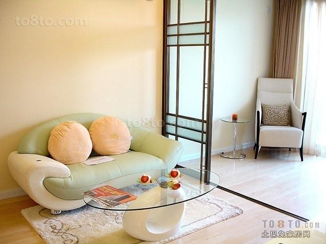 金沙丽晶小户型客厅装修效果图大全2014图片