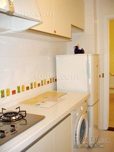 简约小户型厨房装修效果图大全2014图片