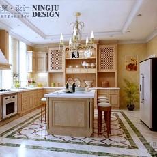 家装欧式厨房效果图