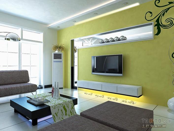 后现代风格loft公寓室内客厅效果图片