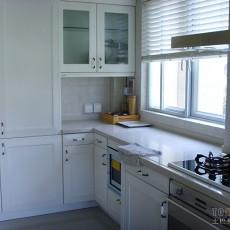 不锈钢整体橱柜厨房装修效果图