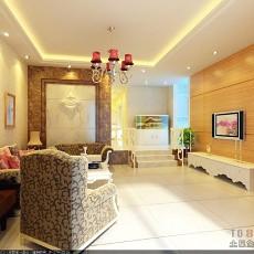 现代欧式风格客厅设计