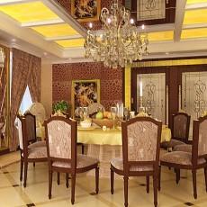 美式餐厅装潢设计图