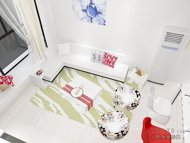北欧简约风格家居卧室装修效果图片