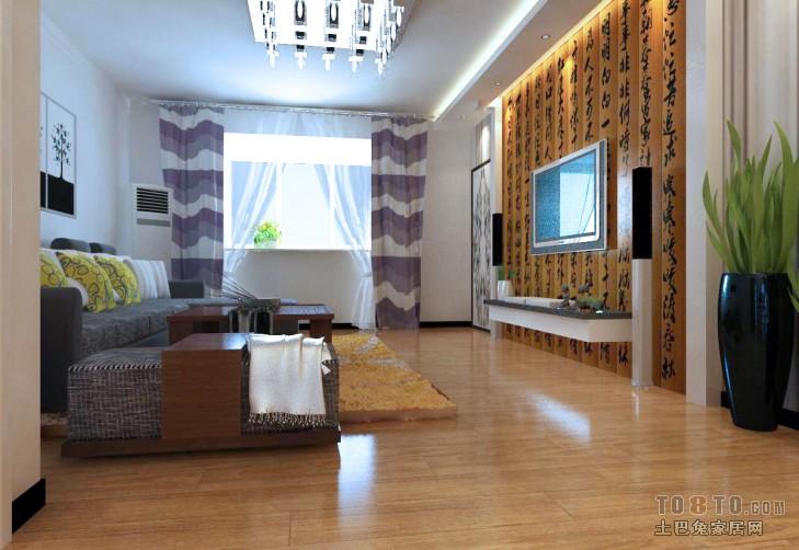 田园装饰设计客厅大全图