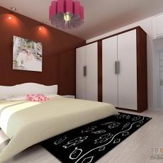 美式卧室实木床图片欣赏