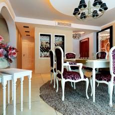 热门143平米四居餐厅混搭设计效果图