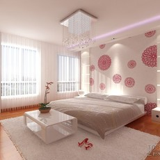 精美面积116平复式卧室混搭装饰图片