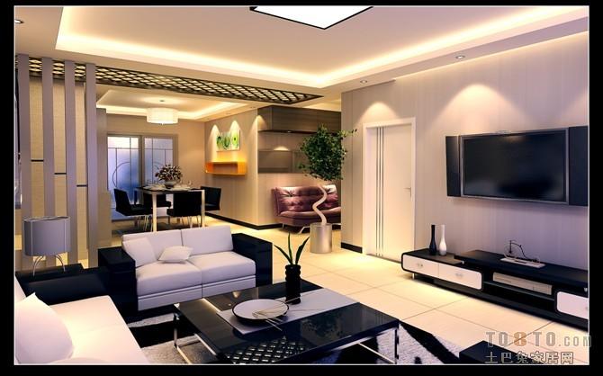 精美面积76平现代二居装修欣赏图片