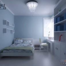 2013儿童房卧室书房装修效果图