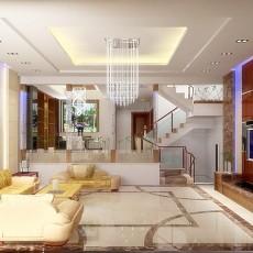 精选美式客厅装修效果图欣赏