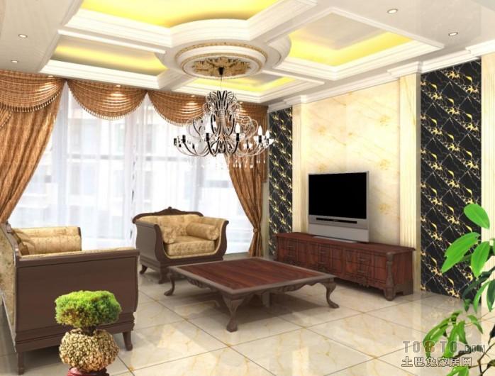 北欧简单设计客厅装修图片