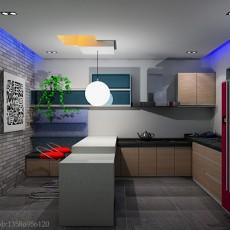 现代家装厨房装修效果图欣赏