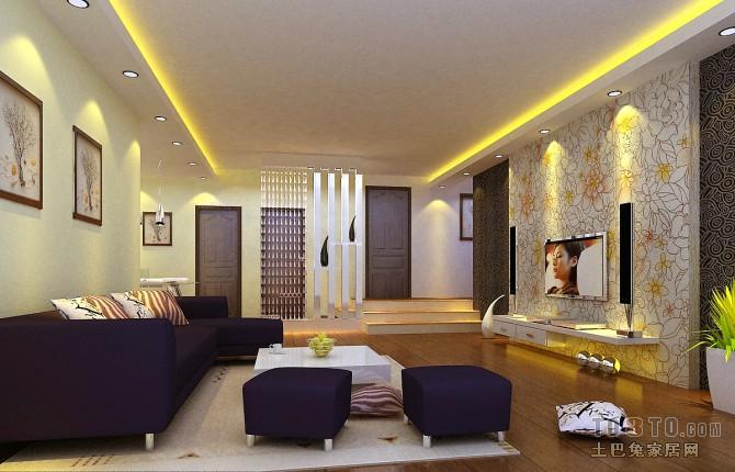 新中式古典风格卧室室内设计效果图