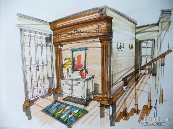 北欧设计客厅图
