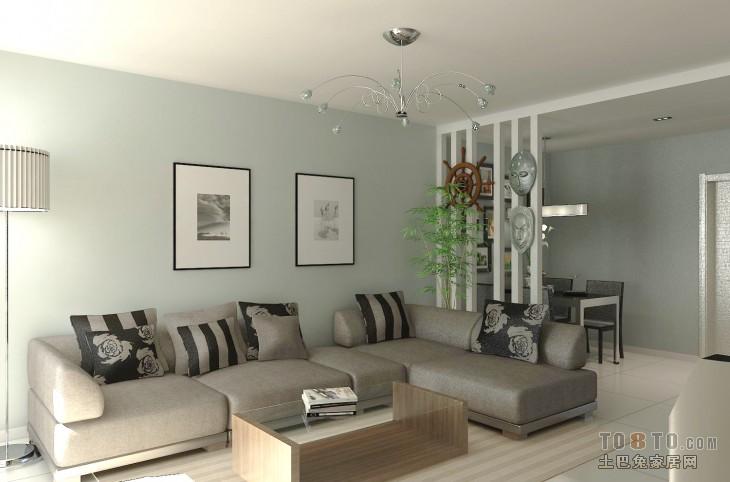 简洁自然北欧卧室装修