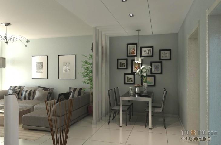 简洁自然北欧居室装修