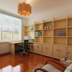 家居中式格调书房设计