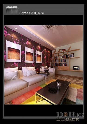 现代新中式客厅设计
