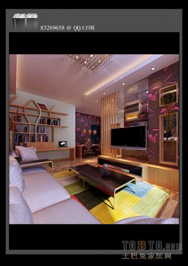 6平米现代家装书房设计