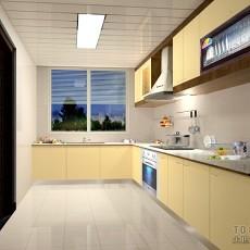 欧式风格开放式厨房装修图片