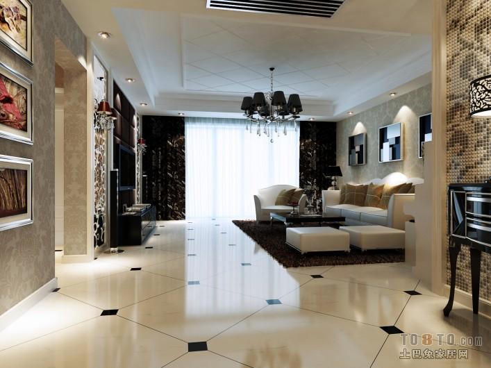 热门面积142平简约四居休闲区装修设计效果图
