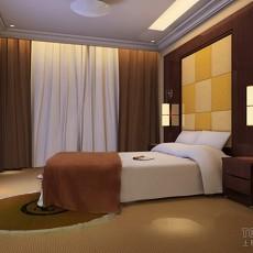 2013年现代简约卧室装修效果图