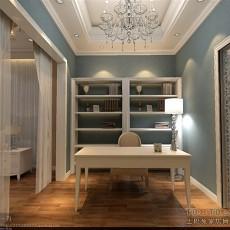 中式书房装修效果图片欣赏