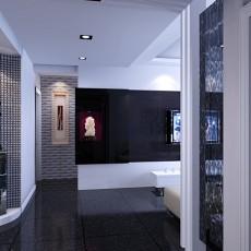 精选四居玄关现代装修设计效果图片