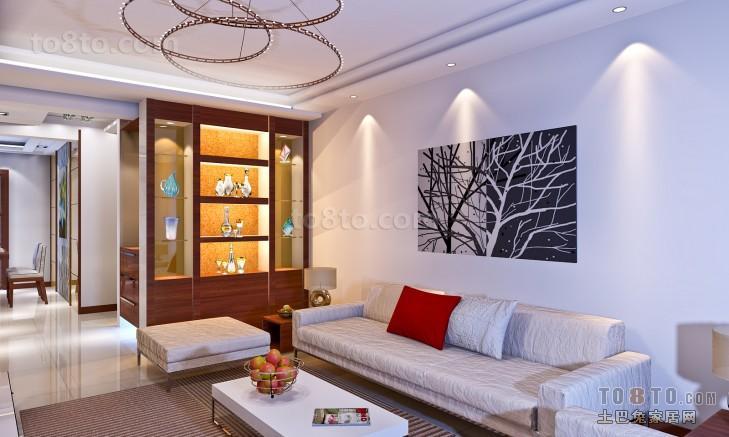 现代客厅装修装饰设计