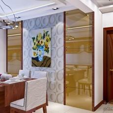 热门四居餐厅现代装修效果图片欣赏