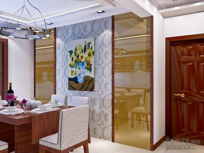 装修效果图中式餐厅图片