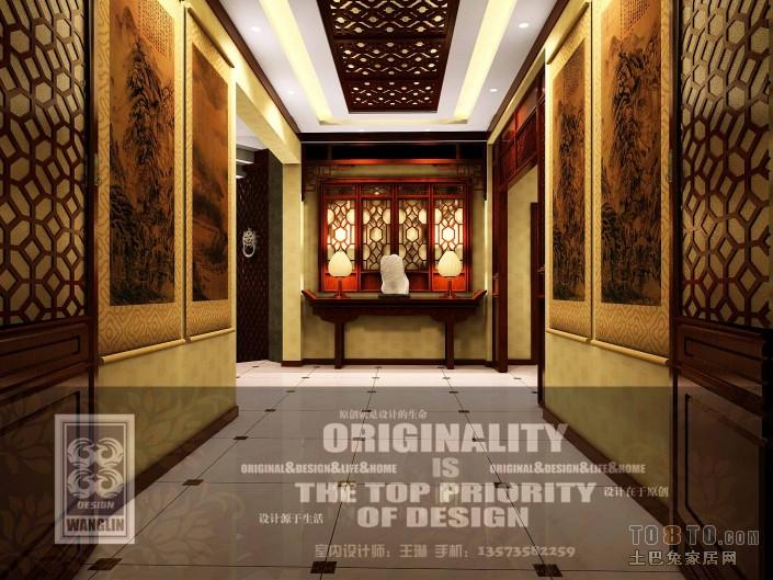 美式风格客厅设计装修图