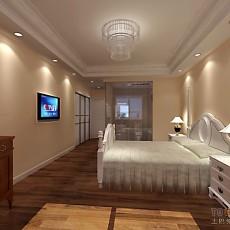 精选面积118平现代四居卧室装修实景图